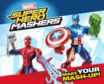 Super Hero Mashers Mash up